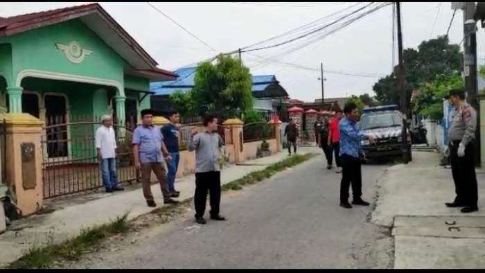 Anggota DPRD Medan Edi Saputra marah