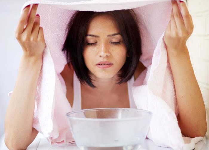 Cara membersihkan paru paru terapi inhalasi uap