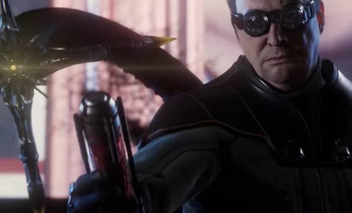 Cuplikan adegan Dr. Octopus lepaskan virus di game Marvel