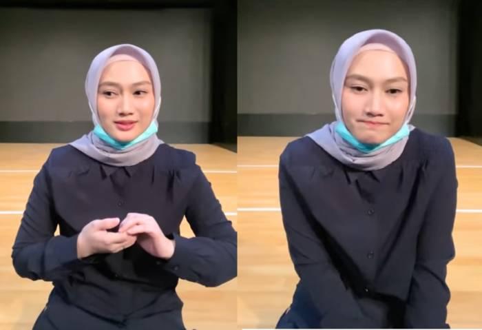 Mantan member JKT48 yang kini menjadi General Manager JKT48, Melady Laksani.