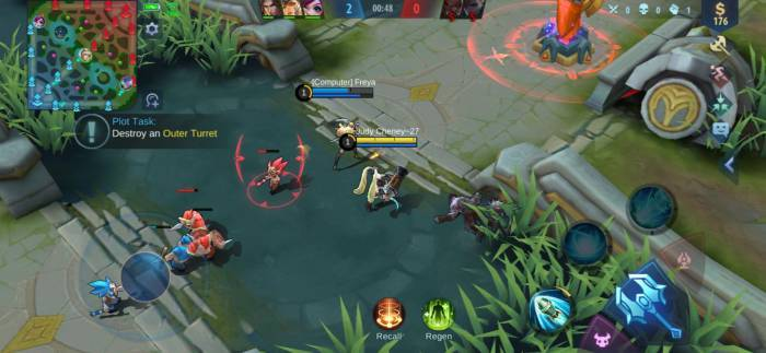 Gameplay Mobile Legends