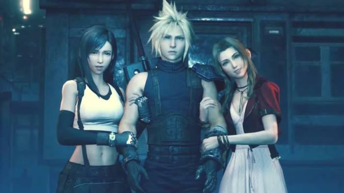 Aerith, Cloud, dan Tifa Lockhart