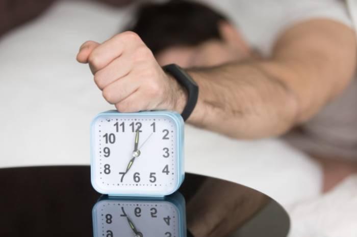 Ilustrasi insomnia.
