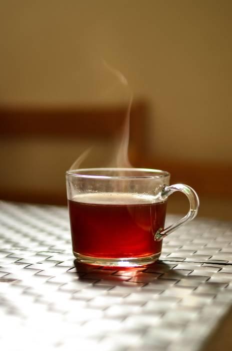 minum teh saat sahur