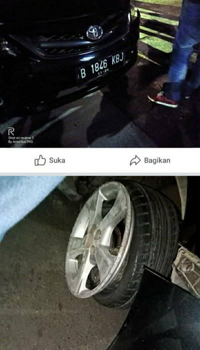 mobil sedan kabur, mobil sedan isi bbm kabur, pencurian bbm