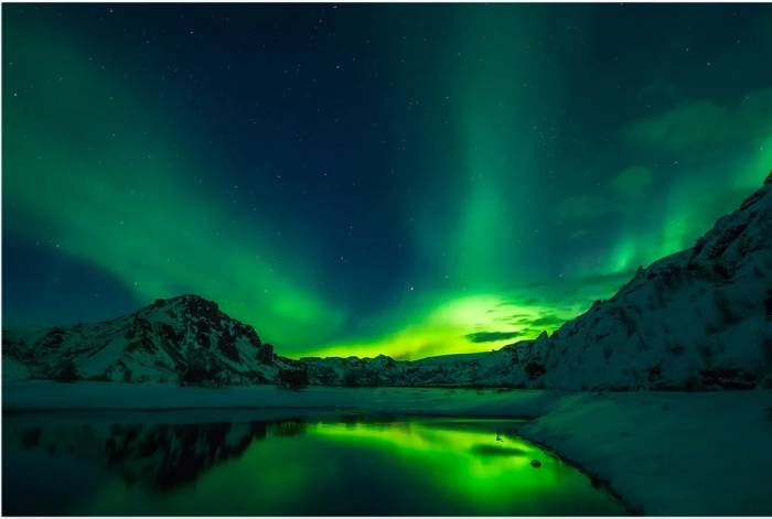 Salah satu tempat wisata di Islandia.