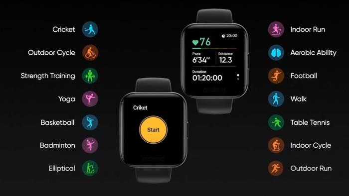 Spesifikasi Realme Watch