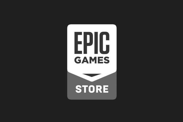 Logo layanan Epic Games Store