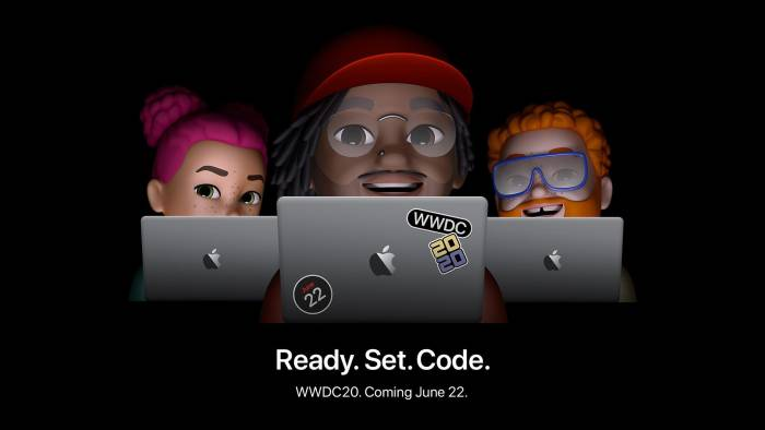 Poster event WWDC 2020