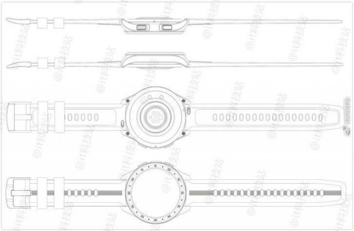 Paten desain smartwatch Vivo Watch
