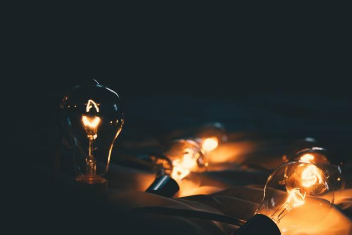 Ilustrasi bola lampu