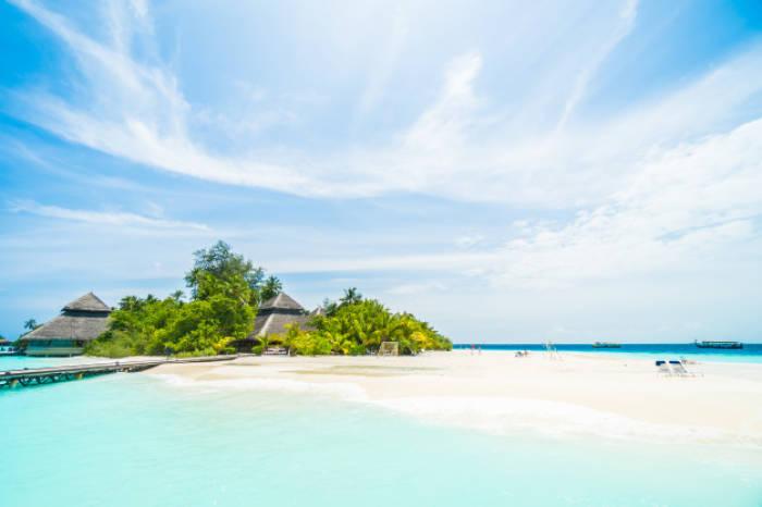 Keindahan Maldives.(freepik)