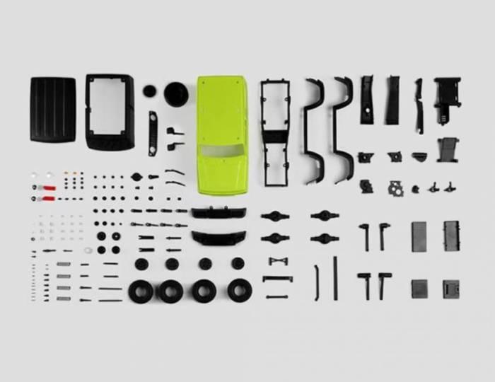 200 komponen terpisah
