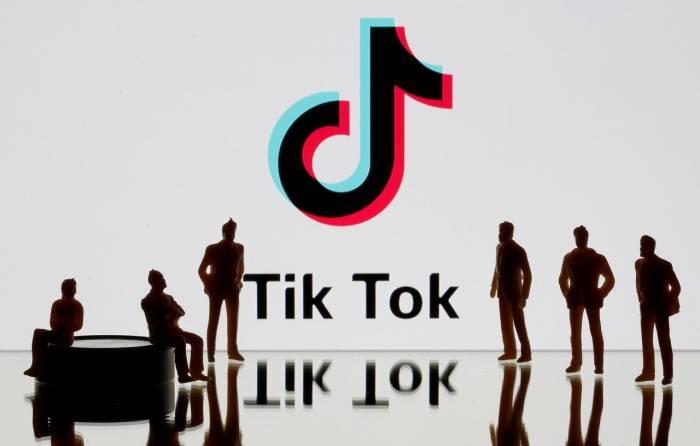Ilustrasi logo aplikasi TikTok