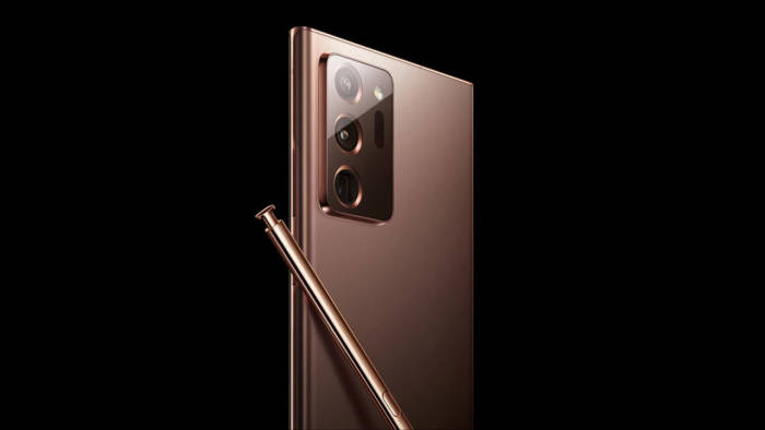Bocoran tampilan Samsung Galaxy Note 20 Ultra