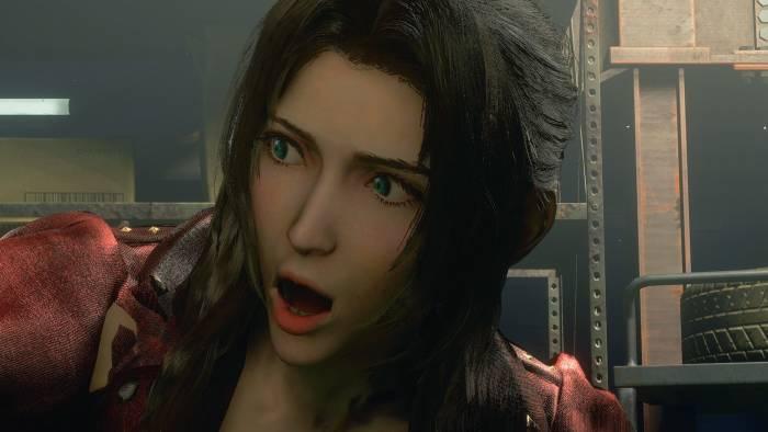 Karakter Aerith di Resident Evi 3 Remake