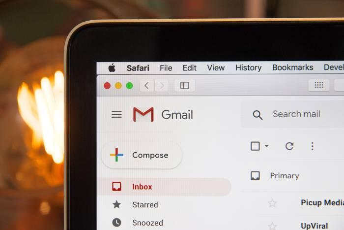 Tampilan situs Gmail