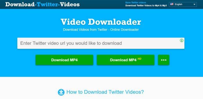 6 Situs Download Video Twitter Unduh Video Twitter Tanpa Aplikasi Indozone Id