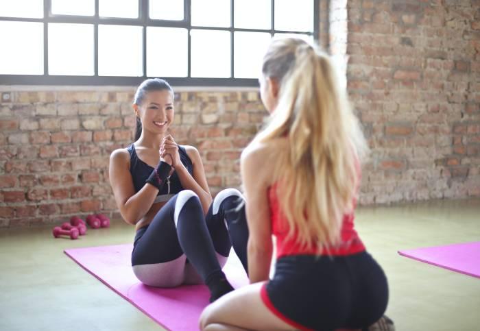 Ilustrasi latihan pilates