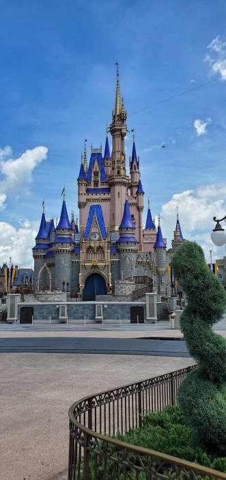 Wajah baru kastil Cinderella di Disney Wolrd