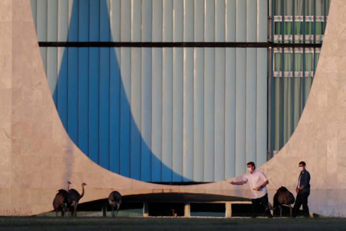 Presiden Brasil, Presiden Brazil Jair Bolsonaro, positif Covid-19, Presiden Brazil Jair Bolsonaro jalani isolasi, Presiden Brazil Jair Bolsonaro jalani karantina, karantina Covid-19, Brasil