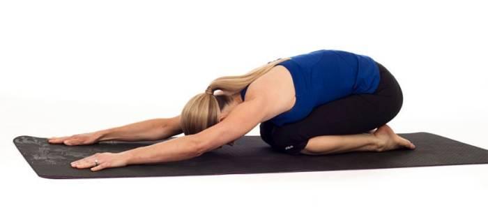 Ilustrasi peregangan punggung