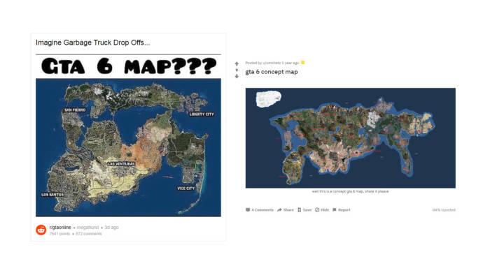 Konsep map dari GTA VI buatan fans