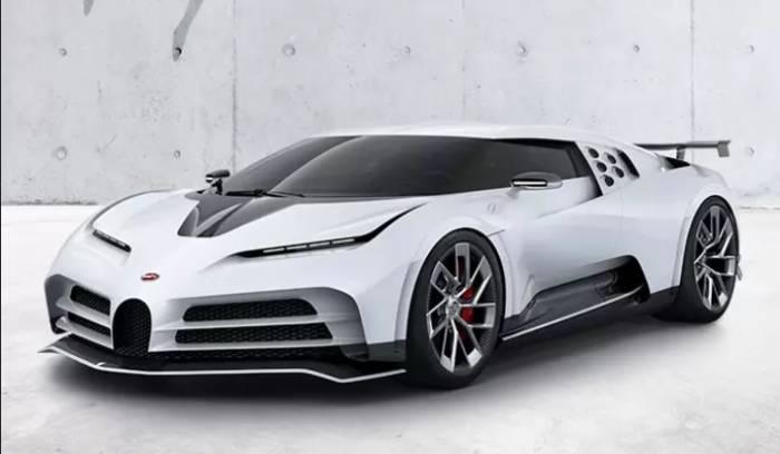 Intip Mobil Baru Bugatti Milik Ronaldo, Harganya Fantastis