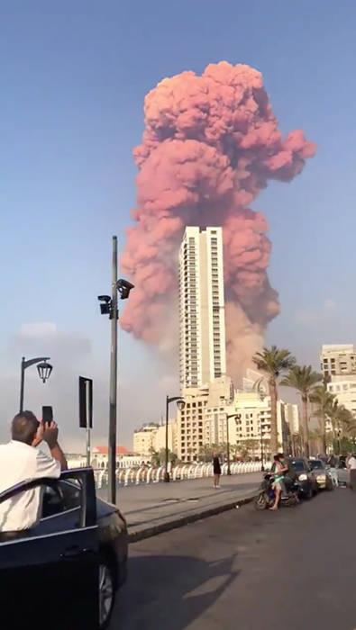 Ledakan, Lebanon, Bom