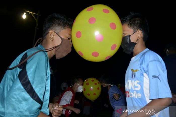 Ide lomba 17 Agustus kreatif joget balon