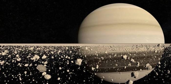Ilustrasi cincin Saturnus