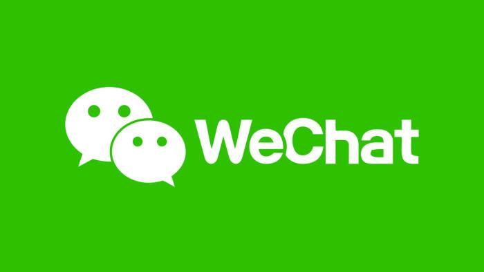 Logo aplikasi perpesanan online WeChat