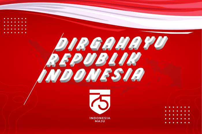 Dirgahayu Republik Indonesia. (Indozone.id)