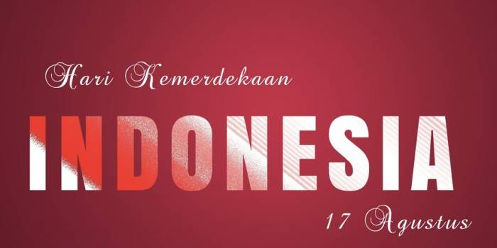 Lagi, hari kemerdekaan Indonesia 17 Agustus