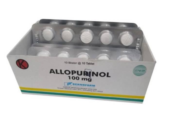 Gejala Penyakit  Obat Tradisional obat asam urat medis generik allopurinol meredakan nyeri asam urat