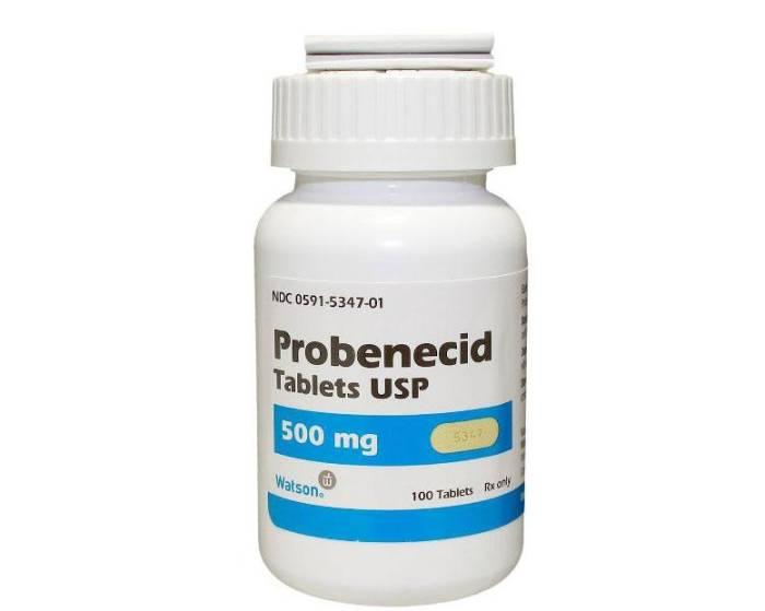 Gejala Penyakit  Obat Tradisional obat asam urat medis generik probenecid di apotek