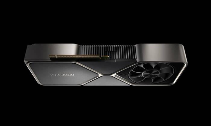 Tampilan GPU Nvidia GeForce RTX 3080
