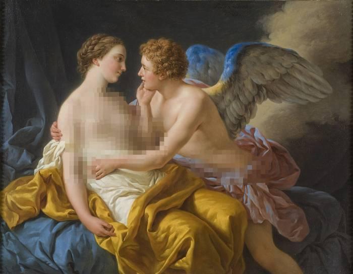 Cupid dan Psyche mitologi Yunani dan Romawai