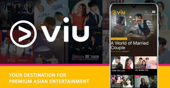 aplikasi nonton drama Korea gratis Viu