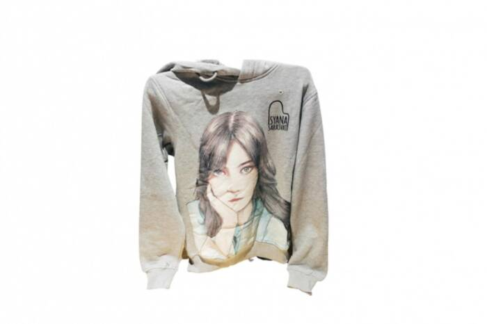 Sweater limited edition milik ISyana Sarasvati. (Istimewa).