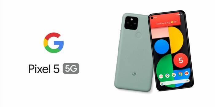 Tampilan smartphone Google Pixel 5 terbaru