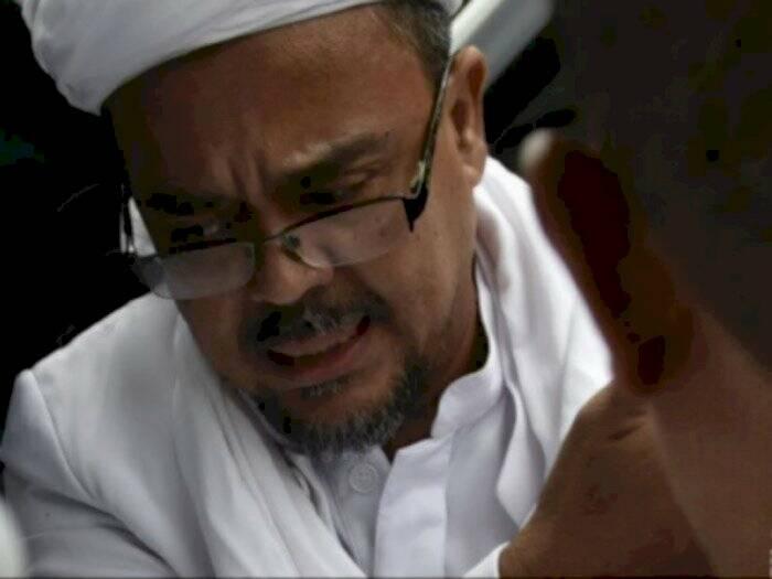 Habib Rizieq Shihab. (ANTARA/Puspa Perwitasari)