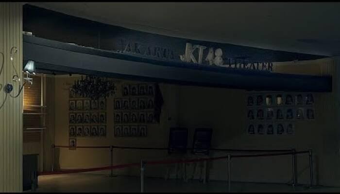 Suasana Theater JKT48 di FX Jakarta yang sepi. (Youtube/JKT48).