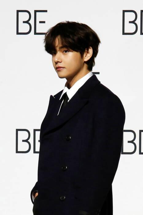 Anggota boy band K-pop BTS V
