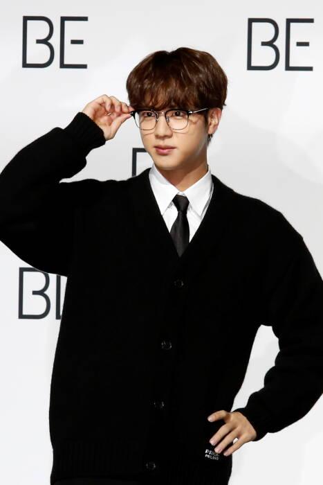 Anggota boy band K-pop BTS Jin