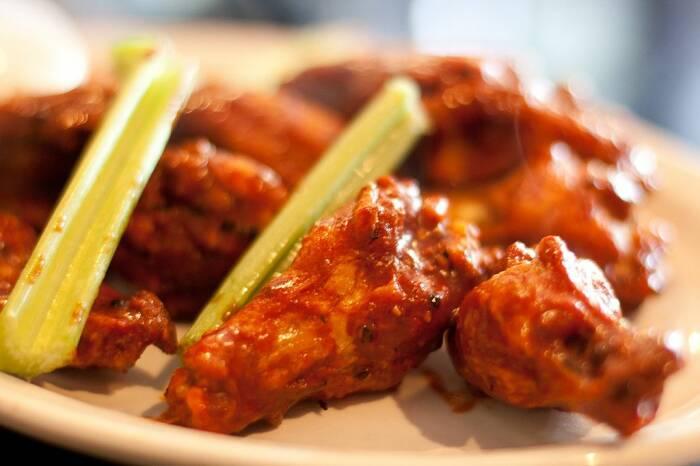 Suicide Chicken Wings, salah satu hidangan pedas populer di dunia