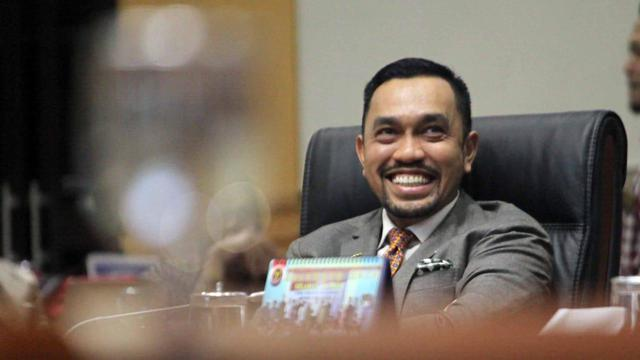 Wakil Ketua Komisi III DPR RI Ahmad Sahroni. / istimewa