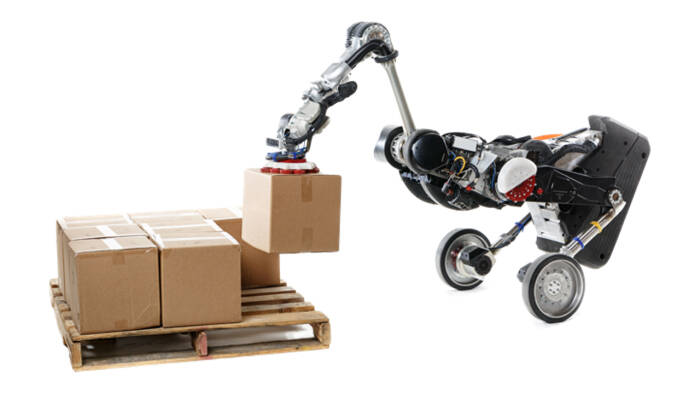 Tampilan robot Handle buatan Boston Dynamics